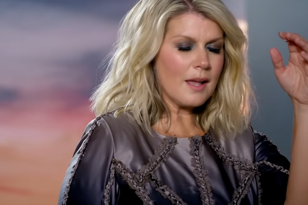 Still from Natalie Grant's Praise You in the Storm video